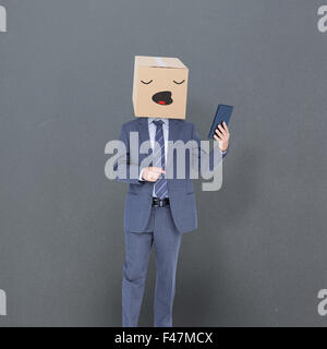 Image composite de l'homme anonyme Banque D'Images