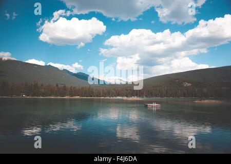Belles images de voyage de Jasper, Canada Banque D'Images