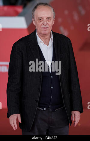 Rome, Italie. 19 Oct, 2015. William Friedkin & Dario ARGENTO Tapis Rouge du 10e Festival du Film de Rome à l'Auditorium Banque D'Images