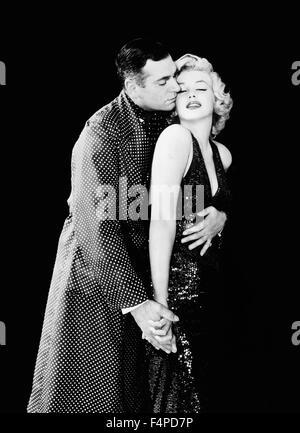 Laurence Olivier, Marilyn Monroe / The Prince and the Showgirl 1957 Réalisé par Laurence Olivier Banque D'Images