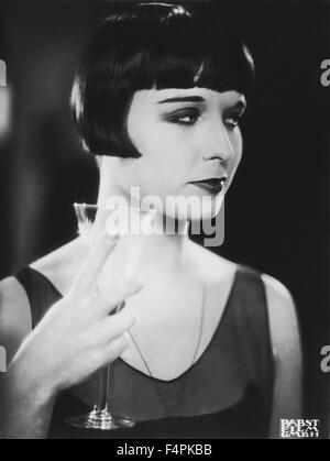 Louise Brooks / Journal d'une fille perdue / 1929 réalisé par Georg Wilhelm Pabst [] Pabst-Film Banque D'Images