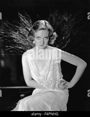 Bette Davis dans les années 30 [Photos] Warner Bros. Banque D'Images