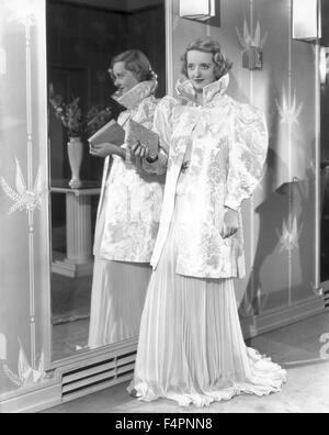Bette Davis dans les années 30. Banque D'Images