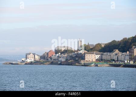 La ville de Gourock qui se trouve sur la côte ouest de l'Ecosse sur la rivière Clyde Banque D'Images