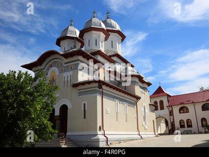 Église de Saint-nicolas le petit Curtea de Arges, la Valachie, Roumanie Banque D'Images