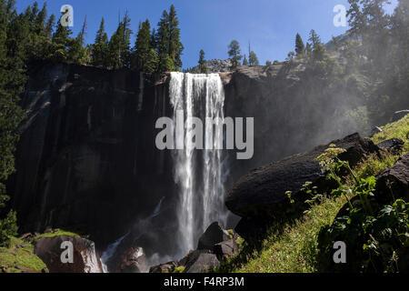 Cascade, Chute Vernal, vallée de Yosemite, Yosemite National Park, États-Unis