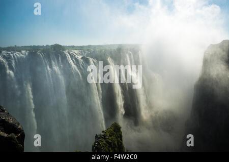 Victoria Falls, Zimbabwe - Victoria Falls Cascade