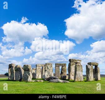 Stonehenge, près de Amesbury, Wiltshire, England, UK Banque D'Images