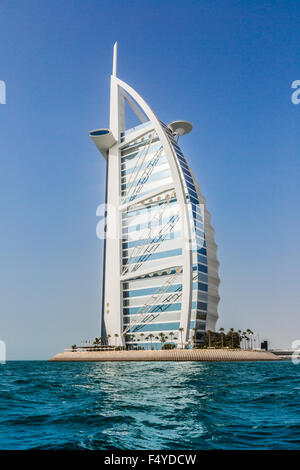 Dubaï, Émirats arabes unis - le 14 novembre: le premier hôtel de luxe 7 étoiles Burj Al Arab, le 14 novembre 2012 Banque D'Images