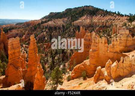 Vue de Fairyland Point, Bryce Canyon, Utah, USA Banque D'Images