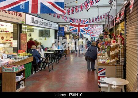 Poireau market hall Banque D'Images
