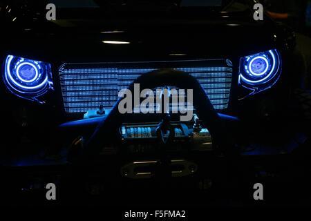 Las Vegas, NV, USA. 29Th sep 2015. Wayde King's custom Jeep phares présents pour la SEMA Show 2015 - MAR, Las Vegas Convention Center, Las Vegas, NV, le 3 novembre 2015. Credit: James Atoa/Everett Collection/Alamy Live News
