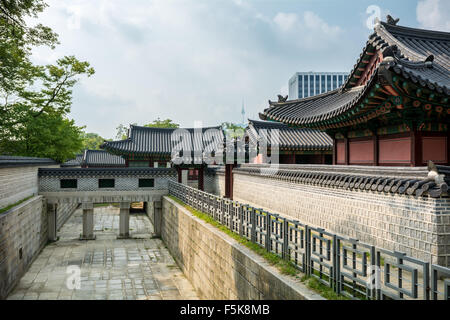 Palais Changdeokgung Séoul, Corée du Sud Banque D'Images