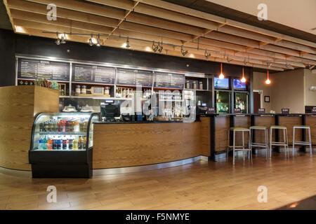 Floride, FL, South, Stuart, Courtyard by Marriott, hôtels hôtels hôtels motels inn motel, intérieur, hall, restaurant Banque D'Images