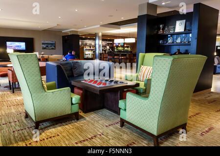 Floride, FL, Sud, Stuart, Courtyard by Marriott, hôtels hôtels hôtels motels inn motel, intérieur, hall, meubles, Banque D'Images