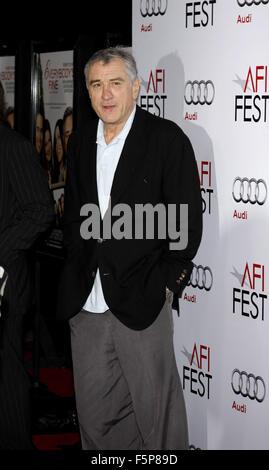 Robert De Niro à l'AFI FEST 2009 'Everybody's Fine' tenue à l'Grauman's Chinese Theatre à Hollywood. Banque D'Images