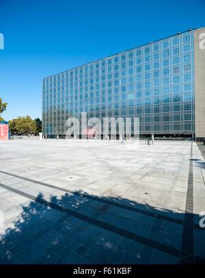 France, Paris, Institut du Monde Arabe Banque D'Images