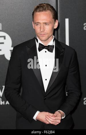 Le British Film Institute's LUMINOUS dîner de gala organisé à Guildhall - Arrivées avec: Tom Hiddleston Où: London, Banque D'Images