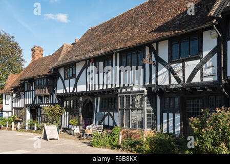 Cadeaux Tudor Cottage, Chilham Square, Chilham, Kent, Angleterre, Royaume-Uni