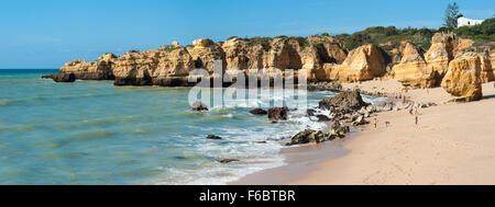Praia de São Rafael, Algarve, Portugal Banque D'Images