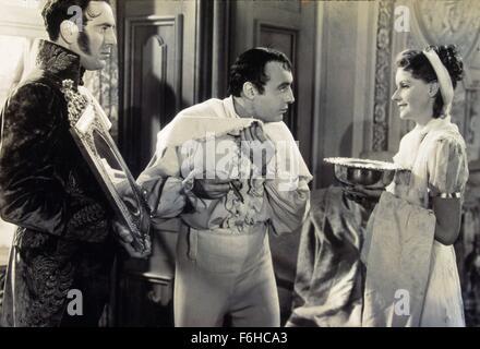 1937, le titre du film: Conquête, Directeur: CLARENCE BROWN, Studio: MGM, Photo: Charles Boyer, CLARENCE BROWN, Banque D'Images