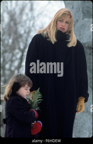 1991, le titre du film: trompé, Directeur: DAMIAN HARRIS, Studio: TOUCHSTONE, Photo: Goldie Hawn, ASHLEY PELDON, Banque D'Images