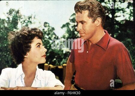 1953, le titre du film: JEUNE FILLE QUI A TOUT, Directeur: RICHARD THORPE, Studio: MGM, Photo: FERNANDO LAMAS, Banque D'Images