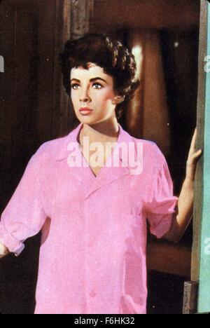 1953, le titre du film: JEUNE FILLE QUI A TOUT, Directeur: RICHARD THORPE, Studio: MGM, Photo: 1953, ELIZABETH Banque D'Images