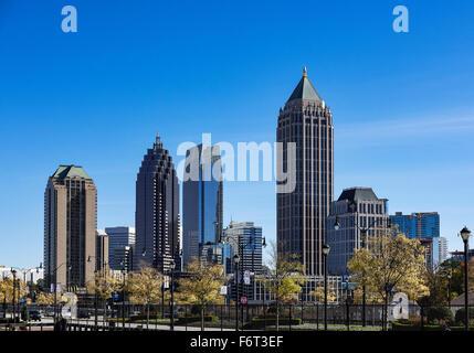 Le centre-ville, Atlanta, Georgia, USA Banque D'Images