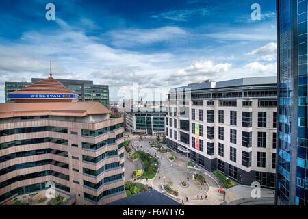 Nouveaux développements à Birmingham y compris No1 Colmore Place Saint-Marc (à droite) Banque D'Images