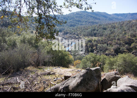 San Joaquin River Gorge près de Squaw Lake, Millerton Leap au-dessus de comté de Fresno en Californie Banque D'Images