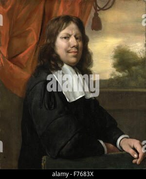 Jan Steen - Self Portrait Banque D'Images