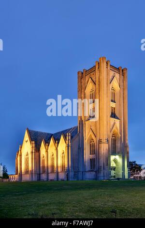 Cathédrale catholique du Christ Roi, Reykjavik, Islande Banque D'Images