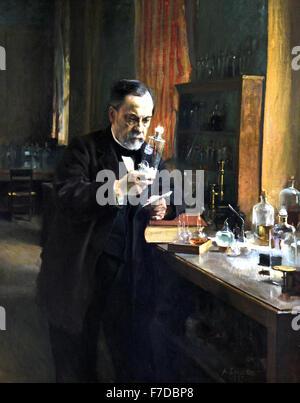 France FrenchLouis 1885 Pasteur Albert Edelfelt 1854 - 1905 Finlande France ( 1822 - 1895 Louis Pasteur chimiste Banque D'Images
