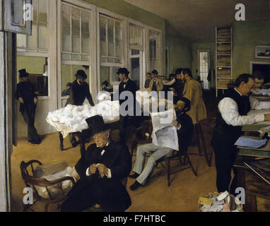 Edgar Degas - l'Office du coton à New Orléans