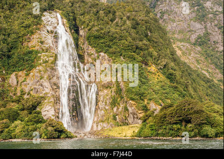 Milford Sound, Fiordland National Park, South Island, New Zealand Banque D'Images