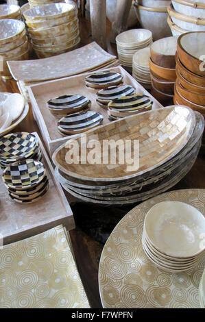 Art De La Table Magasin Chiang Mai Thaïlande Banque D