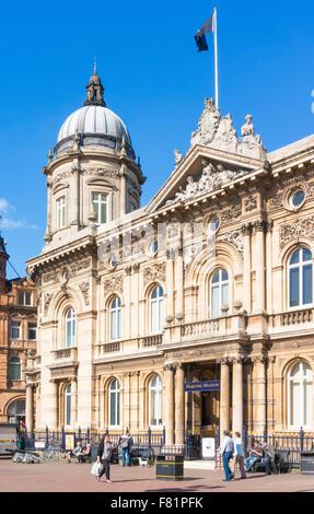 Musée maritime de la coque dans le Dock de bâtiment de bureaux La reine Victoria Square Kingston Upon Hull Yorkshire Banque D'Images