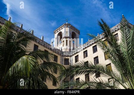 Hôtel Nacional de Cuba (tour) Banque D'Images