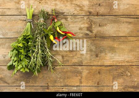 Herbes épicées Banque D'Images