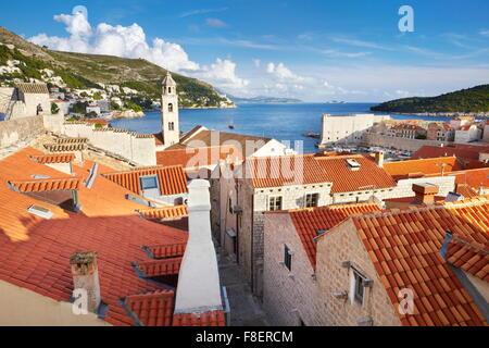 La vieille ville de Dubrovnik, Croatie Banque D'Images
