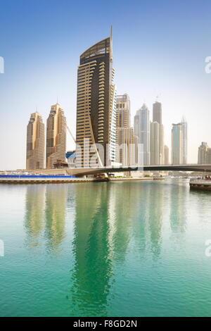 La ville de Dubaï - Marina, Emirats Arabes Unis Banque D'Images