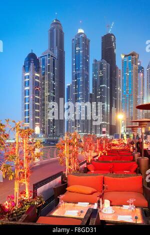 Dubaï - Emirats Arabes Unis, Marina Banque D'Images