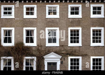 Maison de ville, Middleham, Yorkshire du Nord Banque D'Images