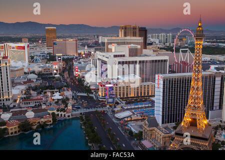 Las Vegas, Nevada. Banque D'Images