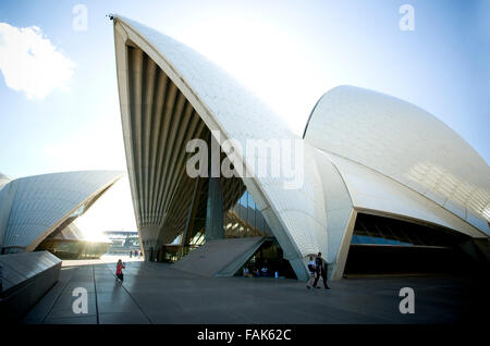 Maison de l'opéra, UNESCO World Heritage Site, Sydney, New South Wales, Australie, Pacifique Banque D'Images