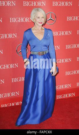Palm Springs, CA. 2 Jan, 2016. Helen Mirren à arrivés pour la 27e édition du Festival International du Film de Palm Banque D'Images