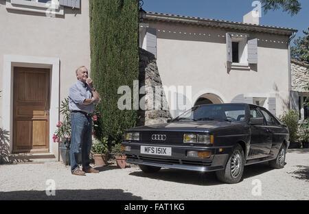 Martin Smith Quattro designer à son domicile en Provence Banque D'Images