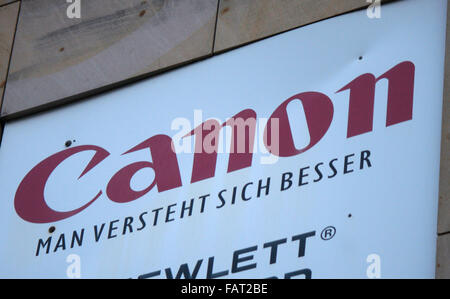 "Markenname : ""Canon"", Berlin. Banque D'Images"