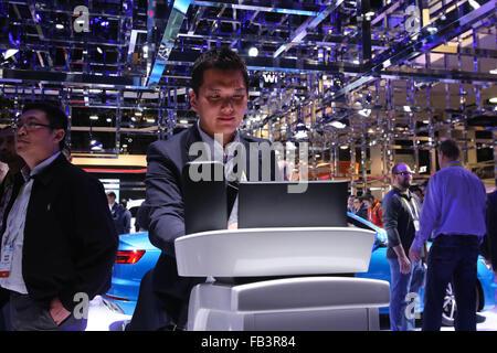 Las Vegas, Nevada, USA. 6 janvier, 2016. Environ 165 000 professionnels de l'industrie se sont rendus à Las Vegas, Banque D'Images